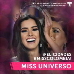 Paulina Vega de Colombia-Miss-Universo-2