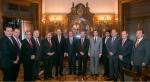 Rector de la UASLP y 7 rectores se reunen con el Secretario de Hacienda