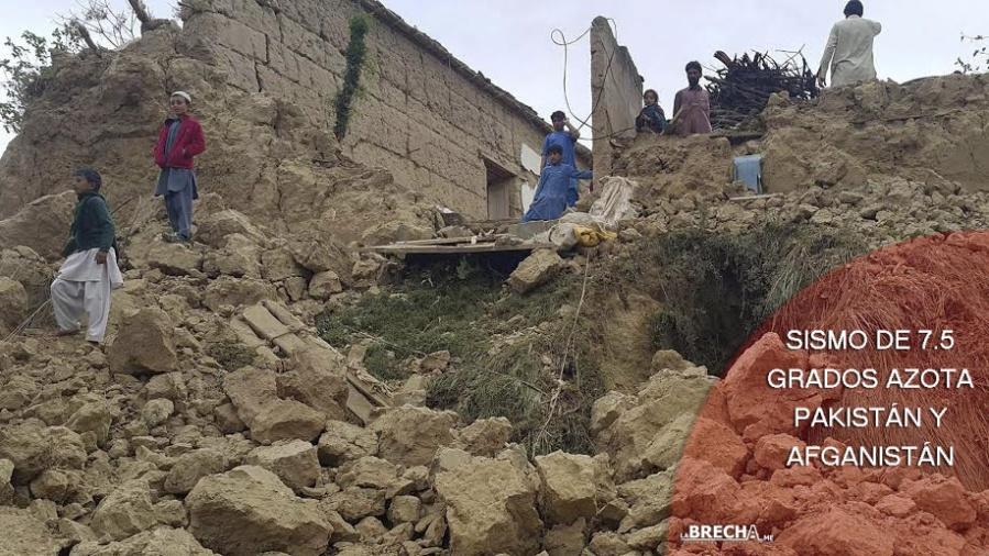 sismo pakistan y afganistan
