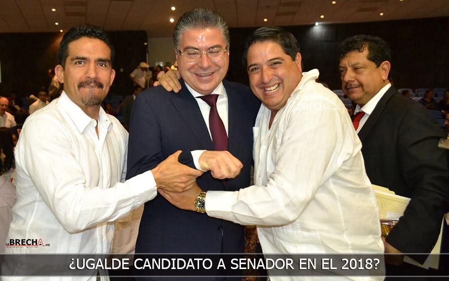 Jose Luis Ugalde quiere ser Senador
