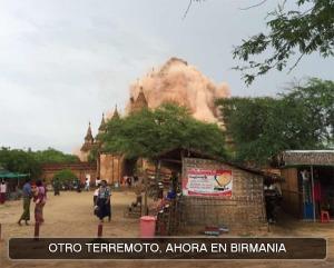 Terremoto en Birmania