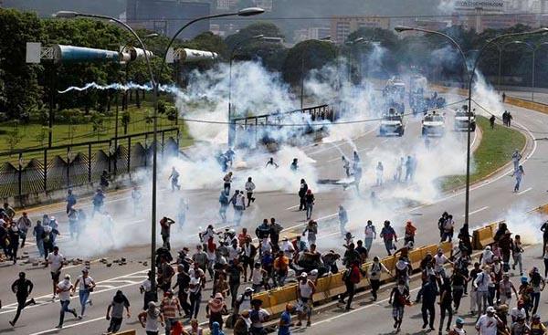 arde venezuela-