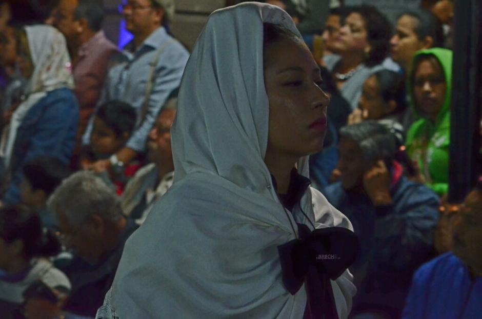 Procesion del silencio en San Luis Potosi 31